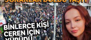 Ceren için Fatsa'da 3 bin kişi yürüdü