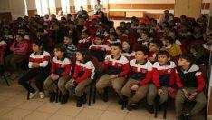Odunpazarı'ndan İbrahim Karaoğlanoğlu İlkokulunda sıfır atık eğitimi