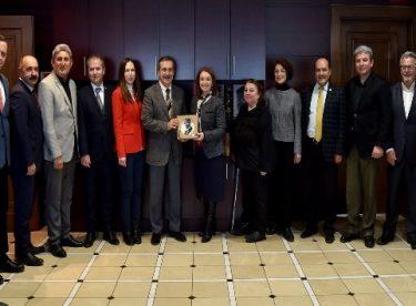 Eskişehir Kent Konseyinden Başkan Ataç'a ziyaret