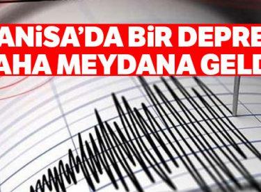 Manisa'da 4.1 büyüklüğünde bir deprem daha