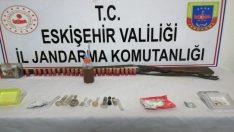 Jandarma ekiplerinden uyuşturucu şüphelilerine darbe: 11 gözaltı
