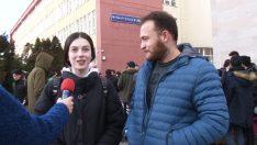 """""""Öğrenci Kafası"""" programında Eskişehir'in soğuğunu konuştu"""