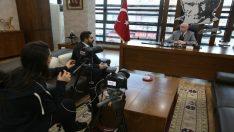 Başkan Kurt Kırım Tatarlarının sorunlarını anlattı