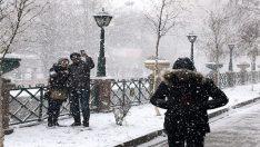 Eskişehir'de kar bir başka güzel