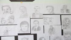 Koca Çınar Yaşam Merkezinin duvarları Fehmi Amca'ya emanet