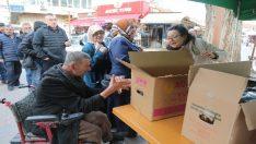 Odunpazarı Belediyesi kandil simidi dağıttı