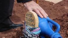 Kadınlar Günü'nde, öldürülen kızının mezarında gözyaşı döktü