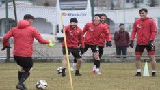 Eskişehirspor kritik Osmanlı maçının hazırlıklarını sürdürdü