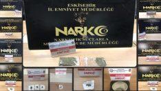 Eskişehir'de uyuşturucu operasyonu, 8 gözaltı