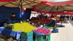 Korona virüs pazarı da vurdu