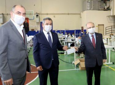 250 bin ücretsiz maske dağıtıcaklar