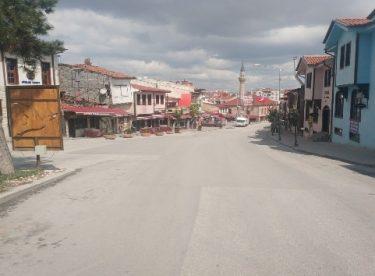 1 Mayıs'ta Eskişehir meydanları boş kaldı