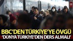 COVİD-19 mücadelesinde BBC'den Türkiye'ye övgü !