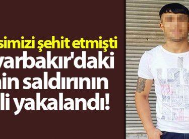 Diyarbakır'da polis memuru Atakan Arslan'ı şehit eden saldırının faili yakalandı
