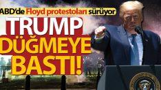 ABD Başkanı Trump asker ve Ulusal Muhafız güçlerini devreye sokuyor