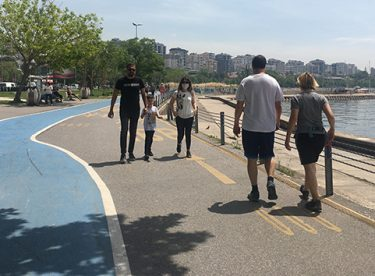 Kısıtlamasız ilk hafta sonunda İstanbul