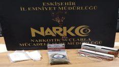 Uyuşturucu maddeler stepne lastik içerisinden çıktı