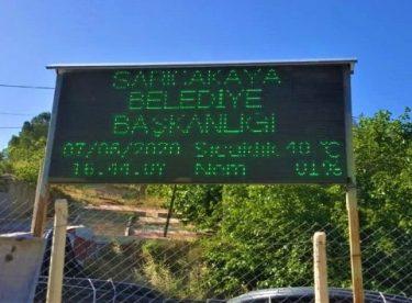 Sarıcakaya'daki hava sıcaklığı Adana'yı aratmadı