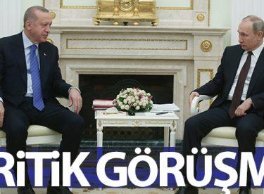 Cumhurbaşkanı Erdoğan, Rusya Devlet Başkanı Vladimir Putin ile telefonda görüştü