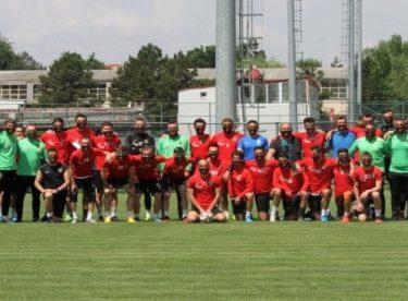 Eskişehirspor BB Erzurumspor maçı hazırlıklarını tamamladı