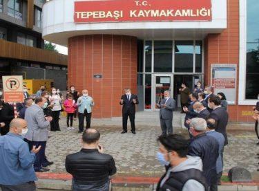 Kaymakam Yılmaz Eskişehir'den ayrıldı
