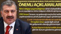 Sağlık Bakanı Fahrettin Koca: 'İkinci dalgayı yaşamadığımızı rahat söyleyebiliriz'