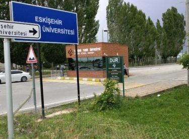 ESTÜ'de bir personelde korona virüs tespit edildi