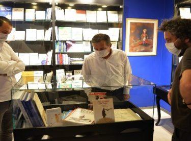 Başkan Ataç'tan Küçük Prens Kitap Müzesi'ne ziyaret