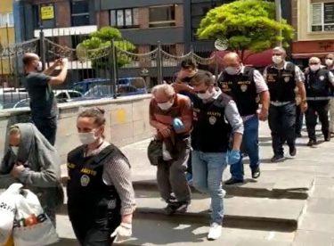 Eskişehir fuhuş operasyonu: 10 tutuklama