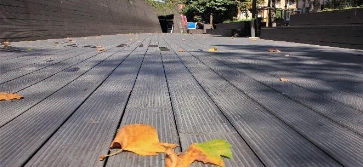 Eskişehir'de sararan ilk yapraklar yere düştü