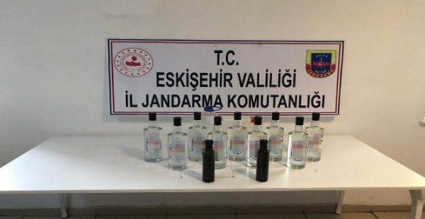 Eskişehir'de kaçak içki operasyonu
