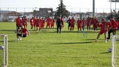 Eskişehirspor teknik ve taktik çalıştı