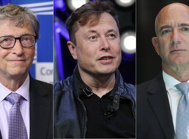 Dünyanın en zengin 10 kişisinden 7'si teknoloji işi yapıyor