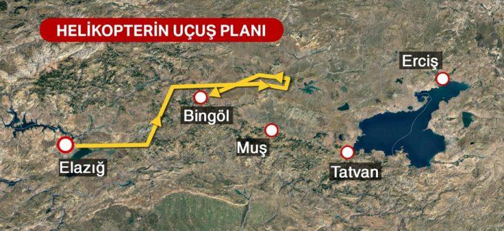 Bitlis'teki helikopter kazasında ön rapor açıklandı