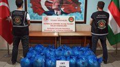 462 kilogram uyuşturucu ele geçirildi