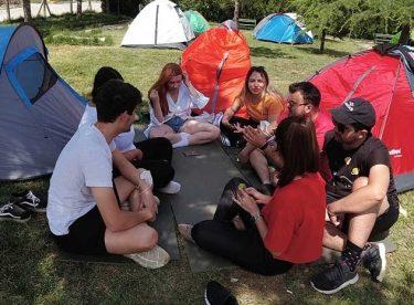 Girişimci gençler kampta