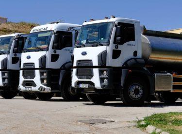 Yeni su tankerleri göreve hazır